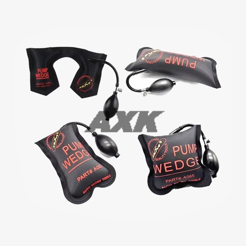 цена на Axk Pump Wedge Locksmith Tools Small Size Auto Air Wedge Airbag Lock Pick Set Open Car Door Lock 19x11cm Hardware Tool