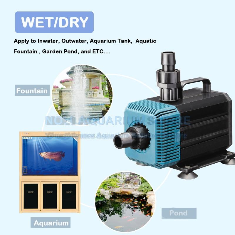 Pet Supplies Submersible Water Pump Aquarium Fish Tank Sump Pond Feature Waterfall Wp-4000 Fish & Aquariums