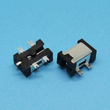 YuXi 5pin SMT Power DC Jack Connector Socket, Hole dia 2.5mm Pin 0.7mm, Size 7.8x5x3.2mm, Commonly used in PDA and Tablet image