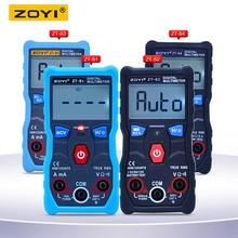 ZOYI ZT S1 ZT S2 ZT S3 ZT S4 истинных среднеквадратичных значений ЖК дисплей Цифровой мультиметр 4000 рассчитывает Авто диапазон с бесконтактная проверка напряжения переменного удержания данных и ЖК дисплей подсветка