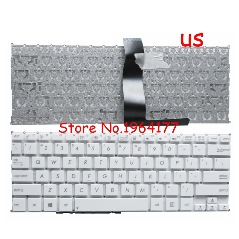 English Laptop Keyboard for <font><b>ASUS</b></font> F200 F200CA F200LA F200MA X200 X200C <font><b>X200CA</b></font> X200L X200LA X200M X200MA R202 R202CA R202LA image