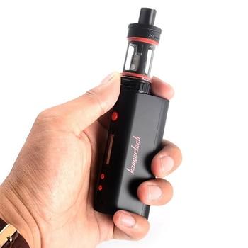 KangerTech – Kit de démarrage Mini TC OLED, 75W, avec réservoir d'atomiseur de 4ml, tête de bobine Clapton 0.5 ohm, noir