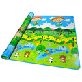 Starz 200cm*180cm Thickness Baby Crawling Play Mat Baby Crawling Pad Game Mats Forest Pattern
