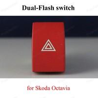 Emergency Light Button Warning Flash Switch for S-koda O-ctavia 1ZD 953 235