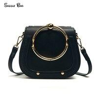 2017 Top Handle Brand Bags Female Shoulder Bags Women S Saddle Evening Handbags Lady S Fashion