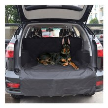 Waterproof Cargo Liner Pets Cover with Extra Bumper Flap for SUVs Trucks Cars Universal Seat Protector Dogs Cats Transport Mat