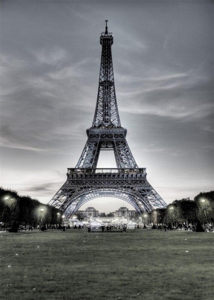Laeacco in bianco e nero della torre eiffel di parigi for Sfondi bianco e nero tumblr