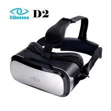 3แว่นตาD2ชุดหูฟังความเป็นจริงเสมือน3D VRแว่นตาเวอร์ชั่นPC 2พันความละเอียดที่มีจอสัมผัส110องศากว้างดูมุม
