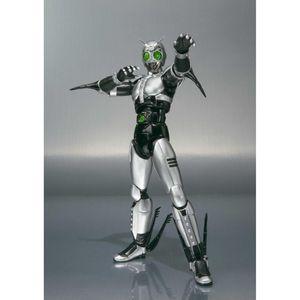 Image 2 - Japan Kamen Masked Rider Original BANDAI Tamashii Nations SHF/ S.H.Figuarts Toy Action Figure   Shadow Moon Ver 1.0