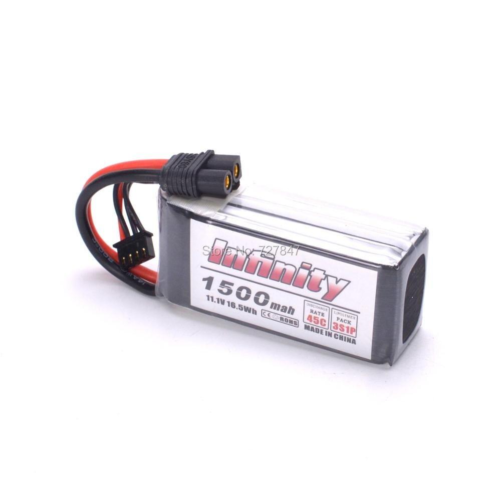 Rechargeable Lipo Battery For Infinity 1500mah 11.1V 45C 3S1P Race Spec Lipo Battery  RC Quadcopter вольтметр 50v 50a lifepo4 lipo tf01n