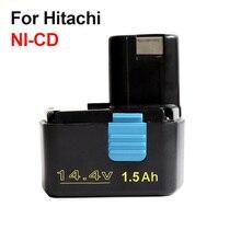 14.4 V 1500 mAh NI-CD Recargable Batería de La Herramienta Eléctrica para Hitachi EB1414S EB1412S, EB1414, EB1414L, EB1414S C-2, CJ14DL, DH14DL
