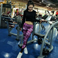 Women Yoga Pants Running Fitness Professional Sports Pants Force Exercise Wicking Stretch Training