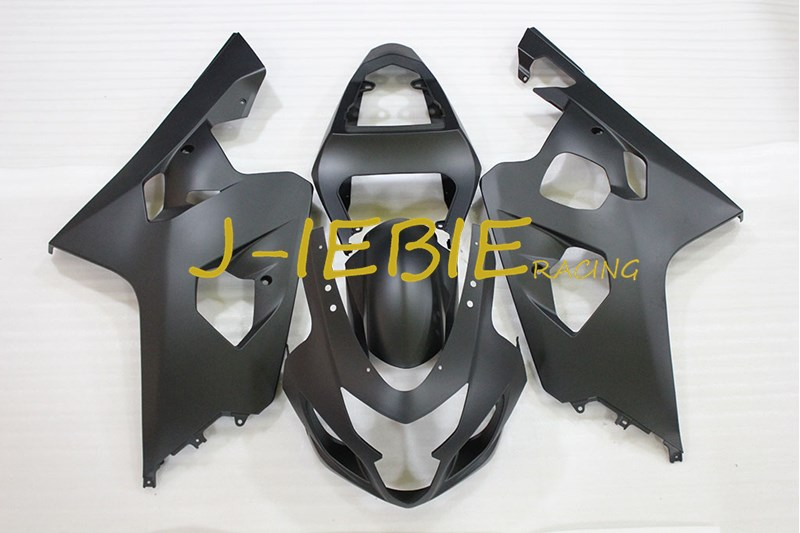 Matt Black Injection Fairing Body Work Frame Kit for SUZUKI GSXR 600/750 GSXR600 GSXR750 2004 2005