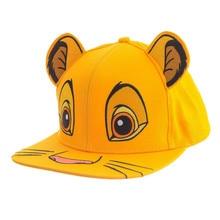 Disney Король Лев детская шапка унисекс Милая Simba Nala лицо бейсбольная кепка Солнцезащитная для детей подарки на день рождения