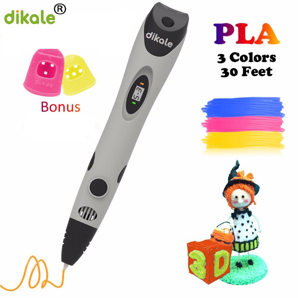 Dikale 3D Pen Draw Your Dreams Printing Pen DKL-07A