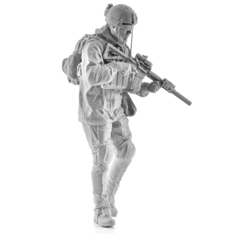 1:16 resin figures model kits US Marine Corps soldiers  Unpainted and Unassembled 378G