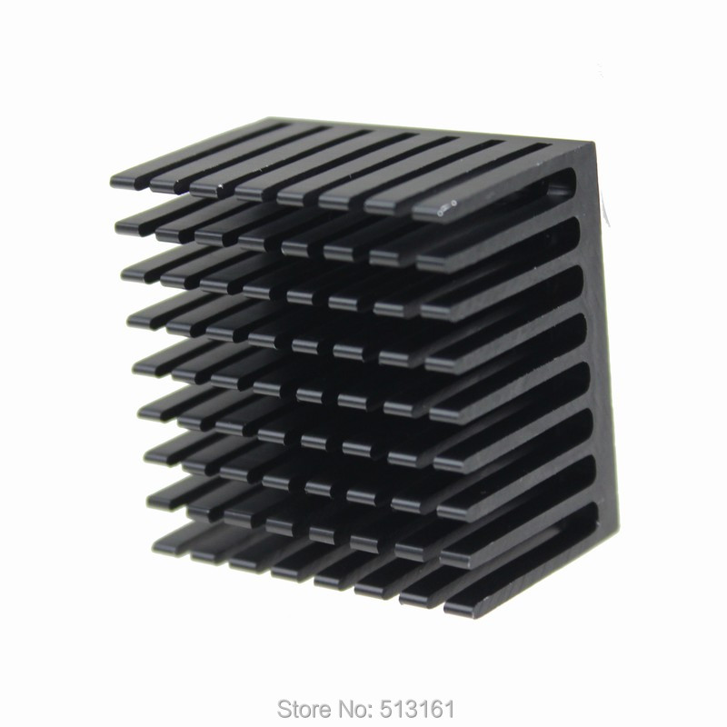 30 Pieces lot 37x37x24mm Cooling Aluminum PGA Packages Heatsink Heat sinks Radiator For CPU in Fans Cooling from Computer Office