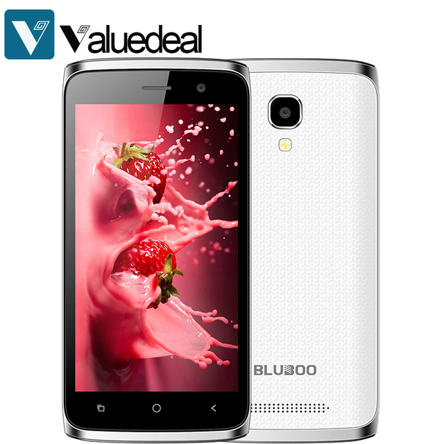 Original BLUBOO Mini Mobile Phone MT6580m Android 6.0 Octa-Core 1.3GHz 1GB RAM+8GB ROM 4.5 inch 8.0MP+5.0MP 1280*720 1800mAh