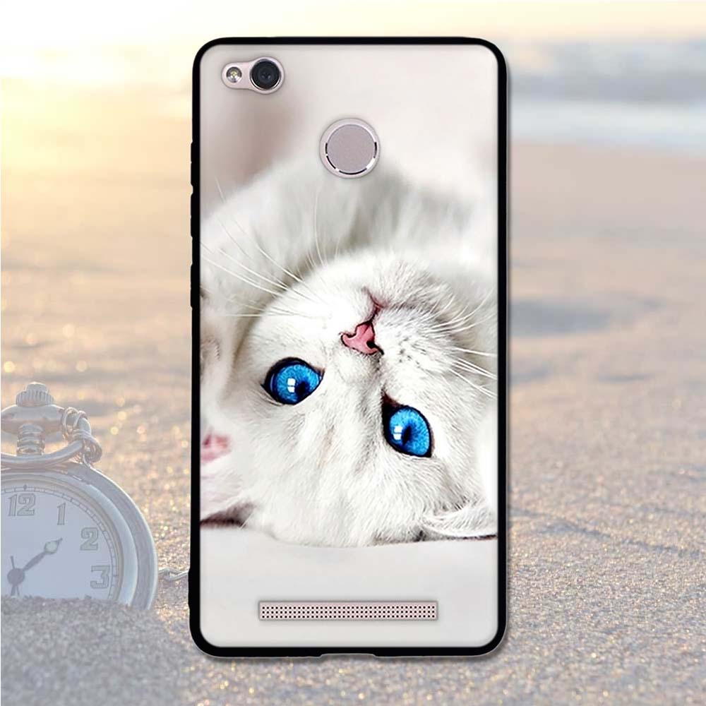 Image 4 - Case For Xiaomi Redmi 3S Case Cover Soft Silicone For Xiaomi Redmi 3S 3X 5.0 Cover Back Case For Xiaomi redmi 3 S 3X 3 Pro Shell-in Fitted Cases from Cellphones & Telecommunications