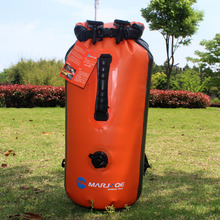 backpack  Waterproof Bag With Gas Mouth Can Be Inflated Double Waterproof Upstream Bag A5243