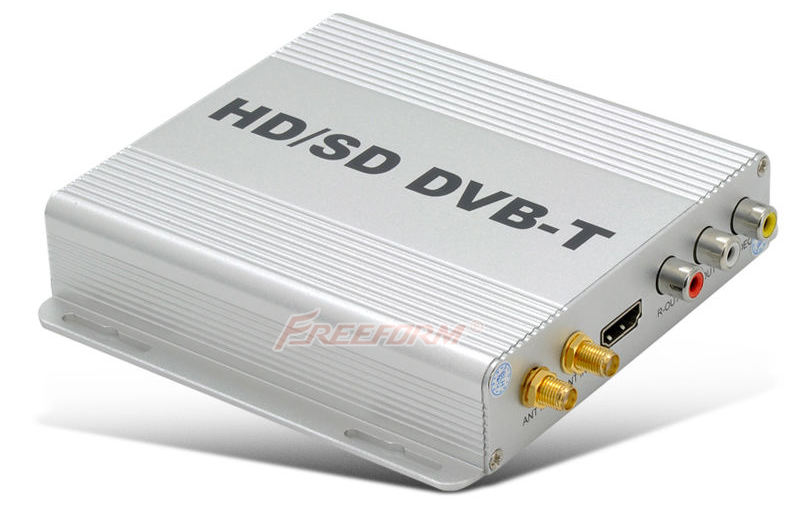 HD Digital TV Receiver Box DVB-T Tuner MPEG2 MPEG4 Car GPS Navigation