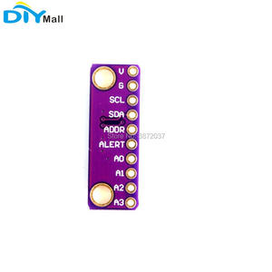 Image 4 - 5pcs/lot GY ADS1115 16 Bit I2C 4 Channel ADC Module with Programmable Gain Amplifier for Arduino Raspberry Pi