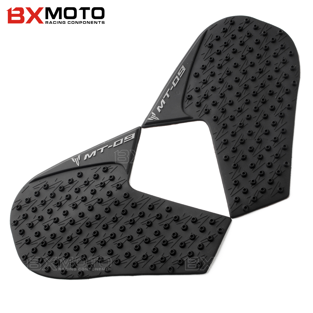 For Yamaha MT-09 FZ-09 MT 09 FZ 09 mt09 FZ09 Motorcycle Protector Sticker Decal Gas Knee Grip Tank Traction Pad Side 3M Cover scoyco motorcycle riding knee protector extreme sports knee pads bycle cycling bike racing tactal skate protective ear