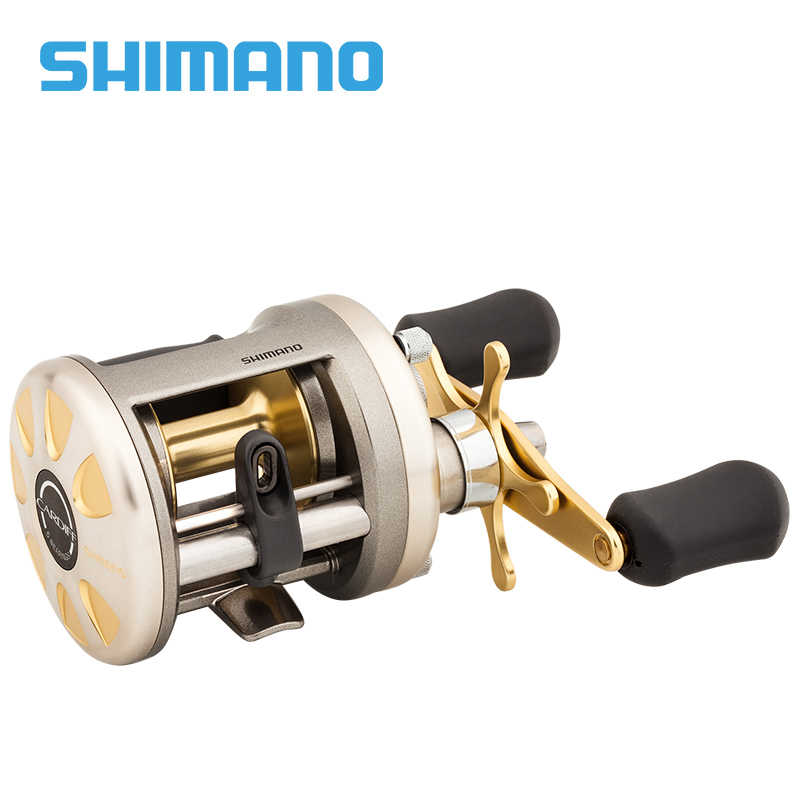 647abfe765c ... Original Shimano CARDIFF 200A 201A 300A 301A 400A 401A Baitcasting  Fishing Reel 4+1BB Gear ...
