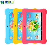 """Almohadilla Bebé Y1 iRULU 7 """"Tablet PC Quad Core Android 4.4 1 GB/8 GB ROM Niños Educación Juego Aprender Crecer Jugar Con caja de Regalo"""