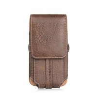 High Quality Portable Universal PU Leather Pouch Sport Bags For Doogee T6 Pro Phone Bags Mobile