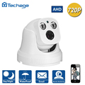 Techage 720 P Lente Grande Angular de 2.8mm Dome AHD CCTV Analógico Camera indoor P2P Onvif Matriz IR Night Vision Home Security vigilância