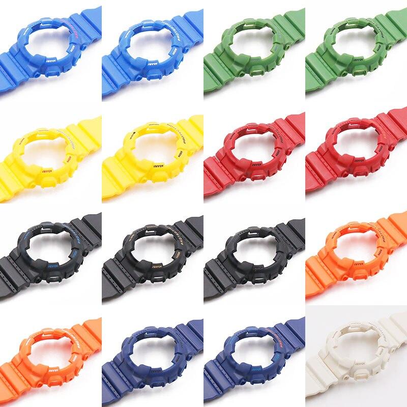 Relógio dos homens da correia de acessórios de resina pin buckle strap case para Casio G-SHOCK GA-110 GA-100 GD-1205146 5081 faixa de relógio à prova d' água