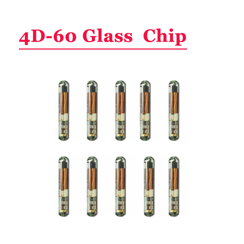 Free Shipping ID 4D 60(T7) Glass Transponder Chip For Ford (10pcs/lot)