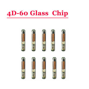 Free shipping ID 4D 60(T7) Glass Transponder Chip For Ford (10pcslot)