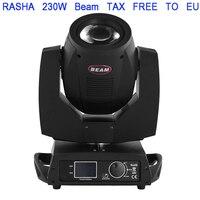 Rasha Stage Lgiht 230W 7R Moving Head Light Beam 230 Beam 7R Disco Lights for DJ Club Nightclub Party DMX Stage Equipment 5R