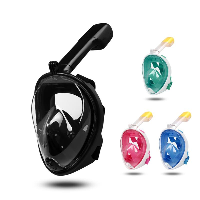 Submersible Scuba Diving Mask Full Face Snorkeling Mask Underwater Anti Fog Snorkeling Diving Mask For Swimming Spearfishing