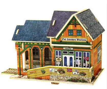 Kits de construction de modèle d'architecture du monde du puzzle 3D - Jeux et casse-tête - Photo 5