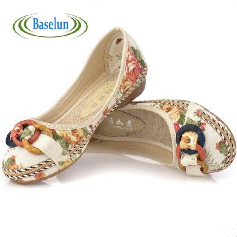 Nuevo  Mujer Sping Verano Casual Zapatos Para Mujer Holgazanes de Los Zapatos Pl