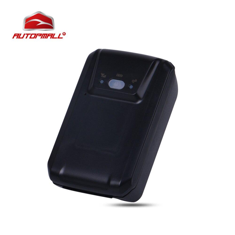 GPS трекер gt03c трек автомобиля устройства слежения 5000 мАч Батарея мощный магнит голос Мониторы GPS и LBS размещения анти -кражи