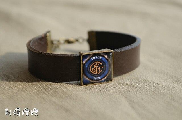 championsleague the fans unisex genuine leather bracelet