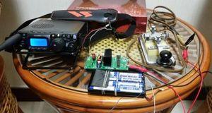 Image 2 - 1 шт. 10 Вт 5 9 Мгц QRP радиопередатчик CW высокочастотный комплект усилителя мощности