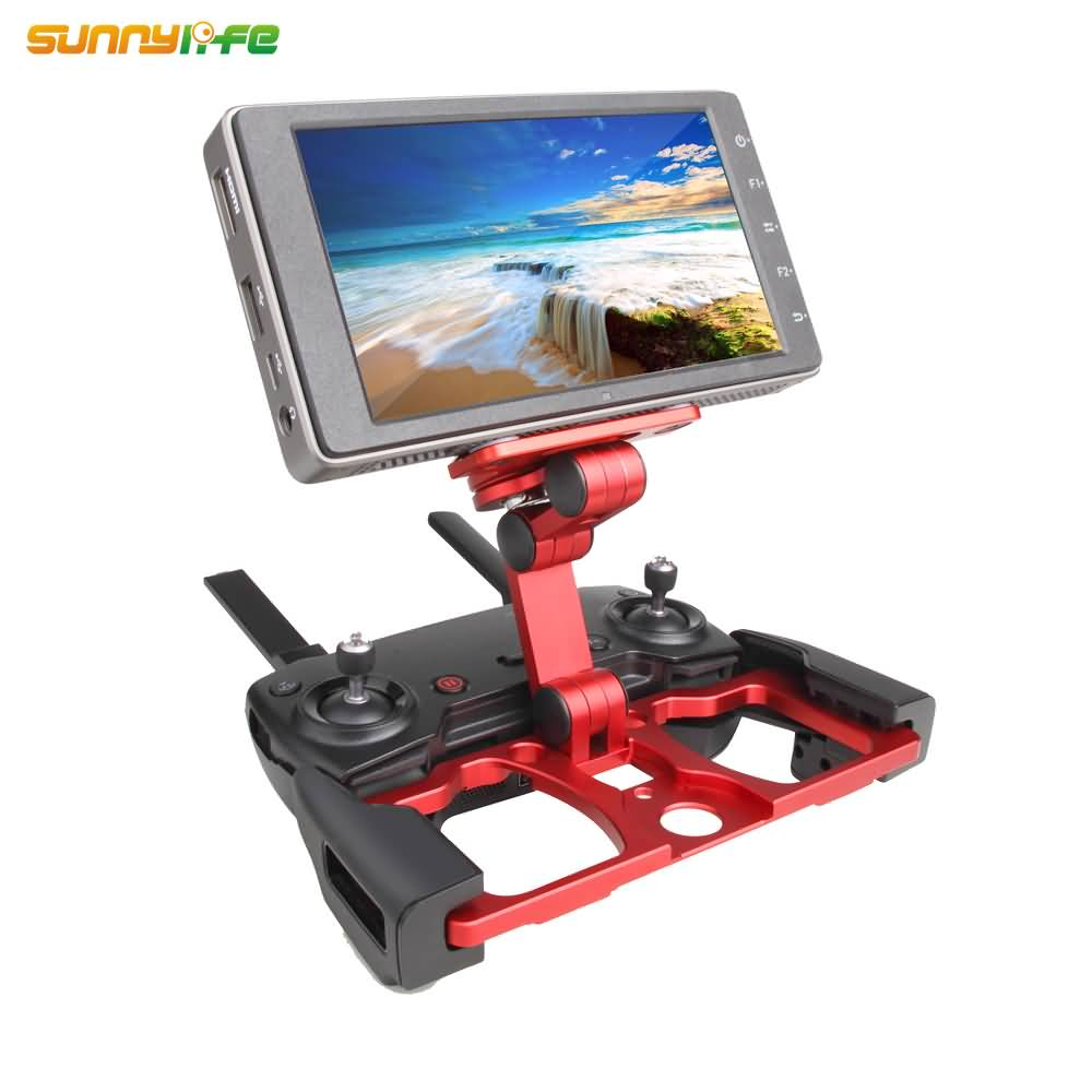 Remote Controller Smartphone Tablet Clip Holder for DJI MAVIC PRO MAVIC AIR SPARK CrystalSky Monitor