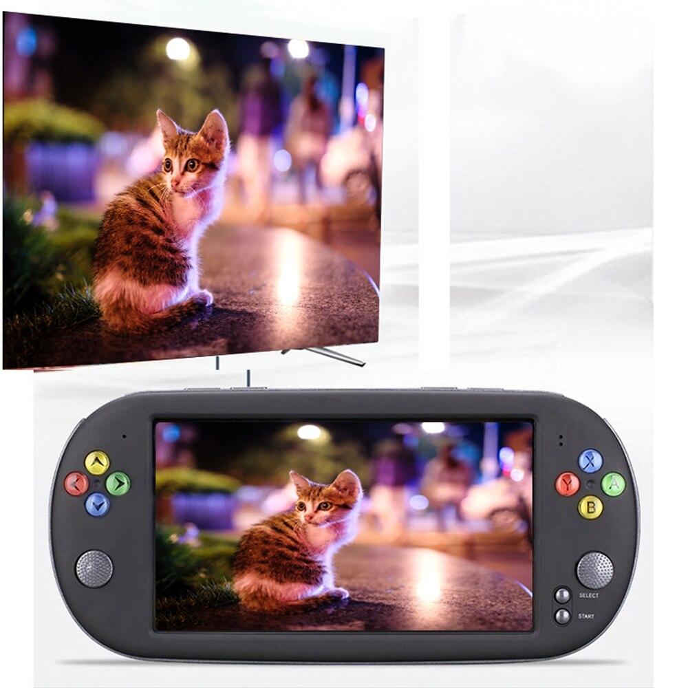 2019 nouveau rétro portable 16 gb 7 pouces écran portable rétro Console de jeu pour Console de jeu PSP 8 GB/16 GB jeu LCD jeux vidéo