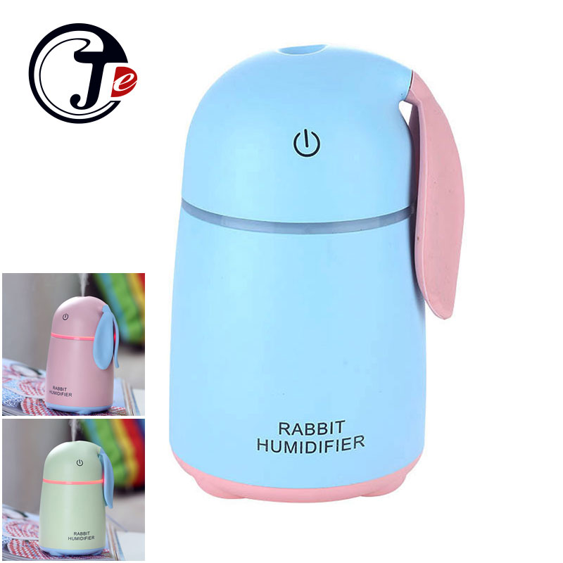 170ML USB Rabbit Air Humidifier Ultrasonic Humidifiers for Home Car Air Freshener Mist Maker Fogger Aroma Essential Diffuser 5pcs lot 8 130mm replacement cotton swab for air ultrasonic humidifiers mist maker humidifier part replace filters can be cut