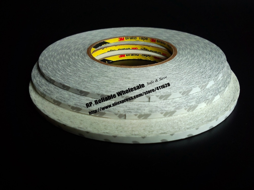 ФОТО Original 5 Rolls 3M (7mm*50M) Double Sided Adhesive Tape for iphone ipad, Tablet, Touch Screen, Display Frame, Cable Bond