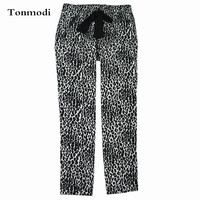 100 Cotton Woven Flat Flannelette 100 Cotton Pajama Pants Autumn And Winter Trousers Lounge Pants Lovers