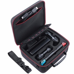 Twardego przenoszenia przełącznik przypadku torba kompatybilny z Nintendo System przełączania Nintendoswitch przełącznik do Nintendo  walizka podróżna Pro