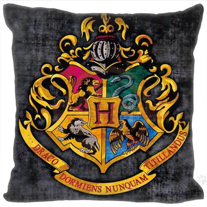 Custom Hot Sale Harry Potter Square Pillowcases Zipper Custom Pillow Case 20x20cm 35x35cm 40x40cm