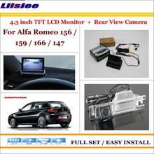 Камера заднего вида liislee для alfa romeo 156 159 166 147 система