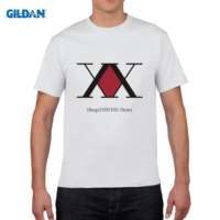 GILDAN Men Short Sleeve T Shirt Hunter X Hunter T Shirt Men S Latest Simple Style